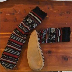 Sock Slippers NWOT